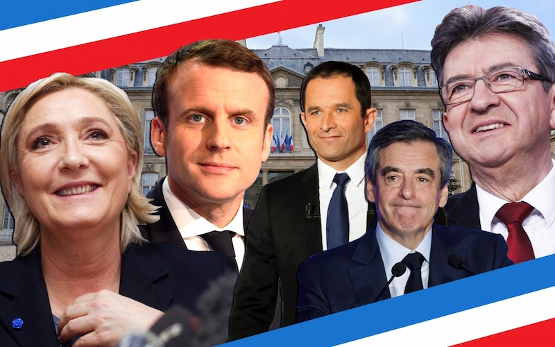 news french presidential election poll tracker odds